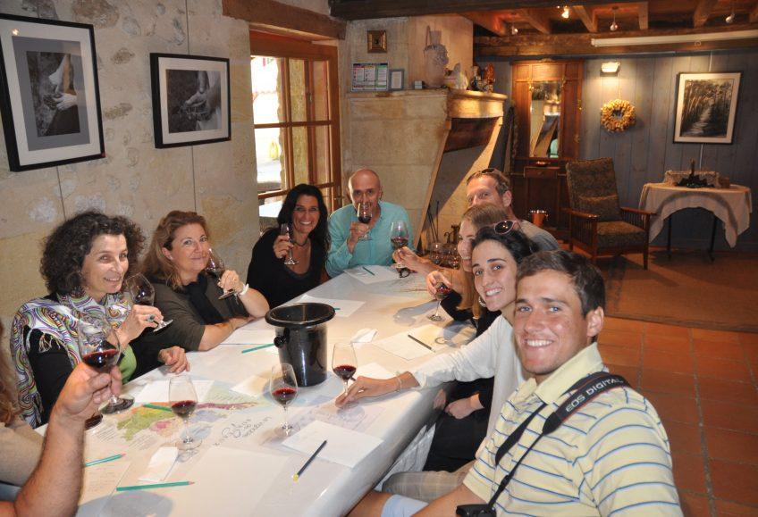 image of a tasting workshop