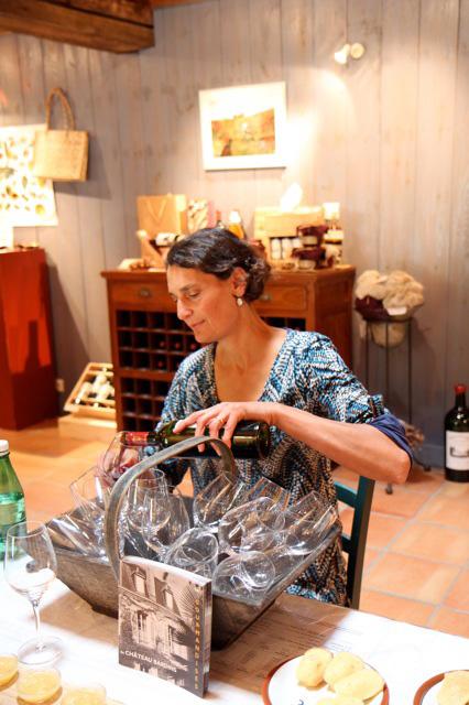 Cours d'oenologie Vins de Bordeaux Pascale Larroche
