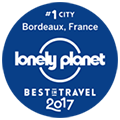 lonely-planet Best Travel 2017 #1 City Bordeaux, France