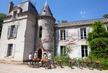 Bordeaux bike tour and tasting wine, visit chateau, wine tour